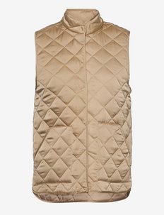 Vianne Waistcoat - puffer vests - white pepper