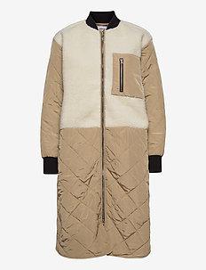 Kiara Jacket - manteaux d'hiver - cornstalk/egret