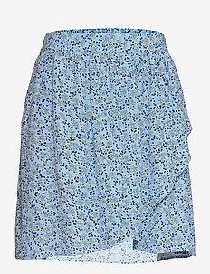 Fadea Jalina Skirt AOP - kääri hameet - p blue flower