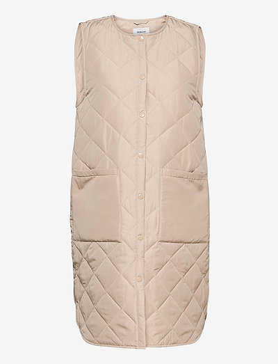 Haven Deya Waistcoat - puffer vests - white pepper