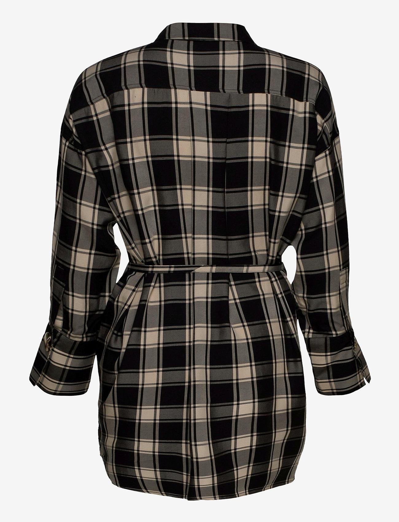 Parker Shirt Dress   - Mother of Pearl -  Women's Dresses Designer