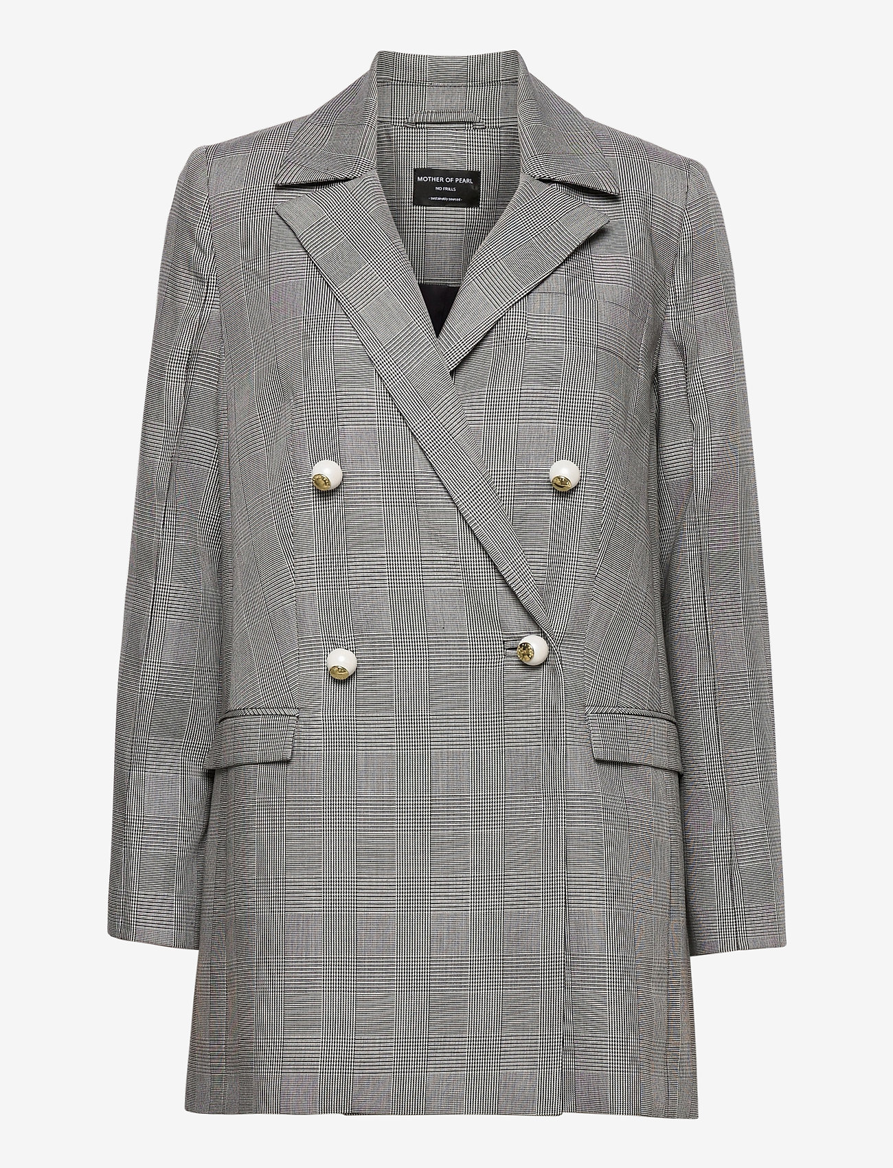 Mother of Pearl - MORGAN JACKET - oversized blazers - prince of wales check - 0