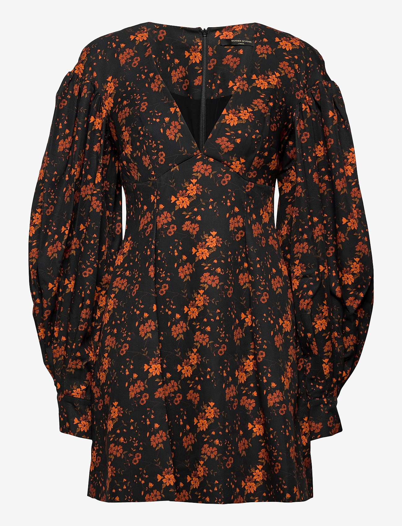 Mother of Pearl - HEIDI DRESS - zomerjurken - noir blossom - 0