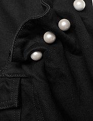 Mother of Pearl - BRENNON DENIM JACKET - spijkerjassen - black - 4