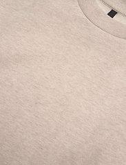 Mother of Pearl - DANI CROPPED JUMPER WITH PEARL SHOULDER - sweatshirts en hoodies - oatmeal - 2