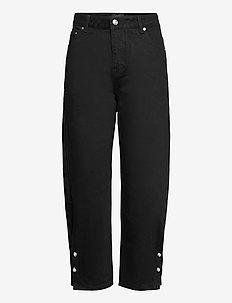 KYRA JEANS - straight jeans - black