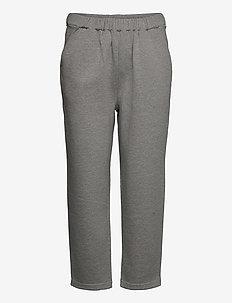 LARA JERSEY JOGGER - spodnie dresowe - grey