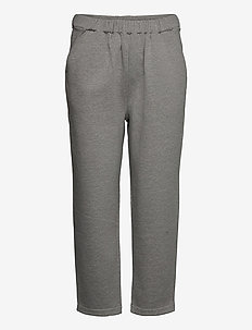 LARA JERSEY JOGGER - sweatpants - grey