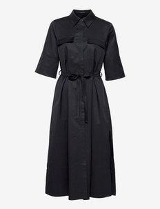 MARGOT DRESS - skjortekjoler - navy