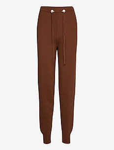 LORENCE KNIT JOGGER - brown