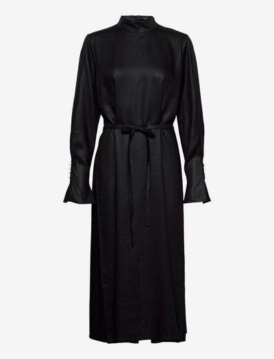 MEGAN DRESS - summer dresses - black
