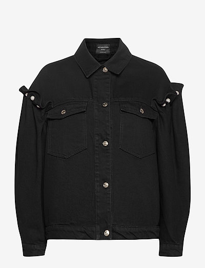 BRENNON DENIM JACKET - denim jackets - black