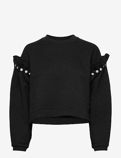 DANI SWEATSHIRT - sweatshirts & hoodies - black