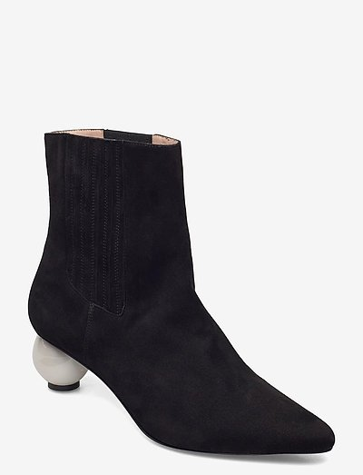ROXANNE BOOT - heeled ankle boots - black