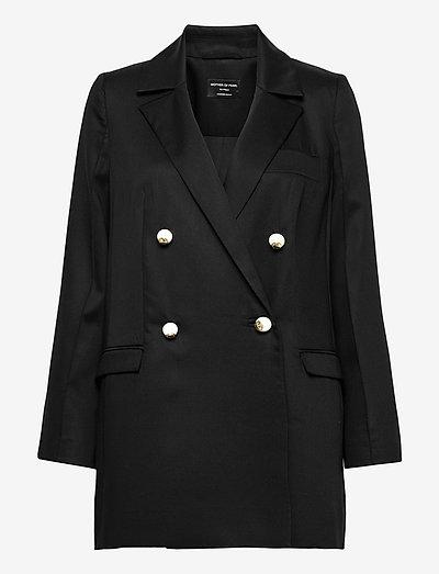 MORGAN JACKET - oversize blazers - black