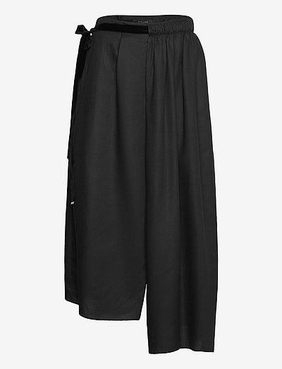 RUBY SKIRT - midi nederdele - black