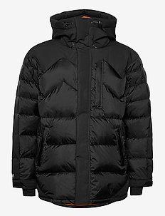 FATBOY HYBRID DOWN PARKA 2.0 - vestes matelassées - black