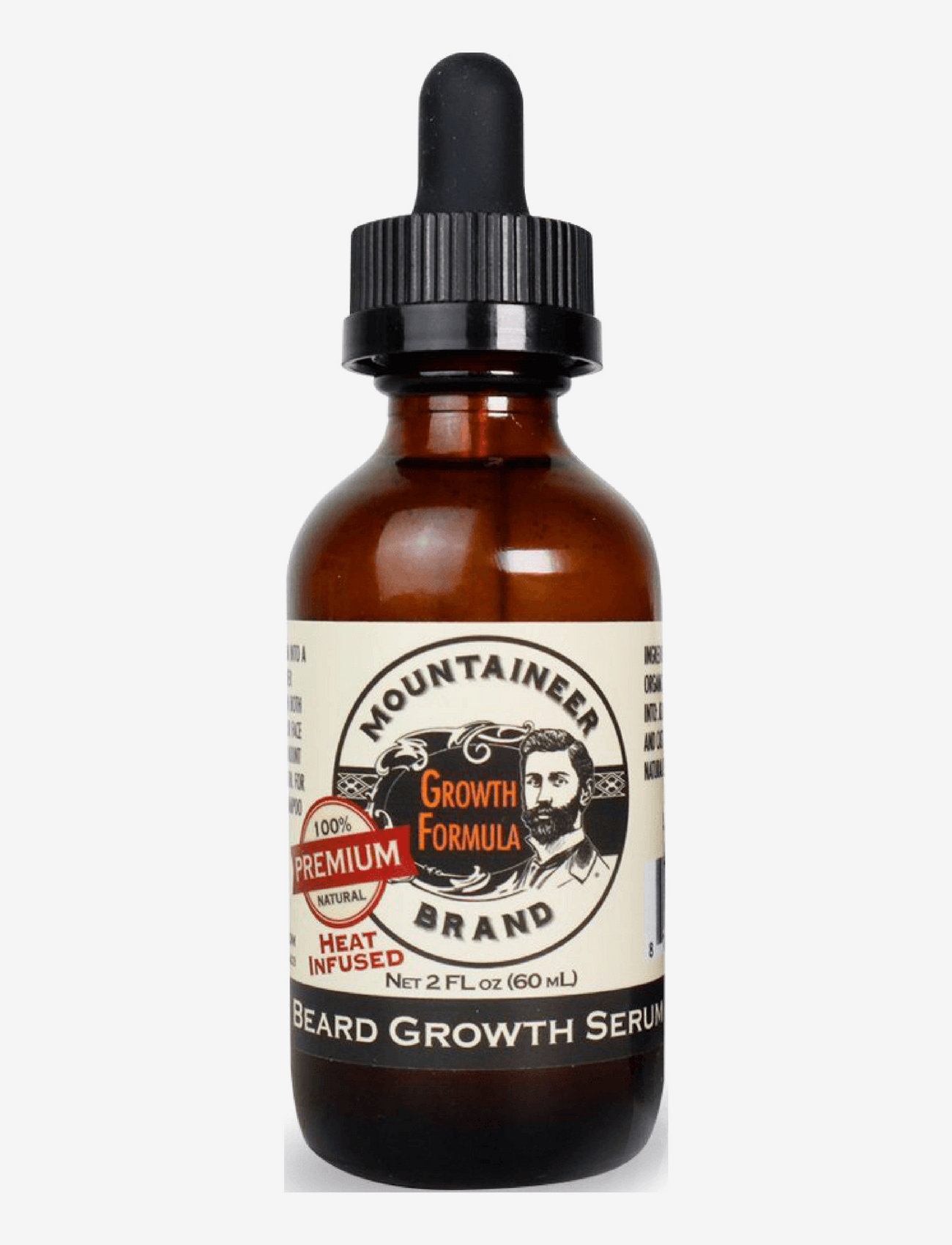 Mountaineer Brand Premium - Heat Infused Beard Growth Serum - skægolie - clear - 0