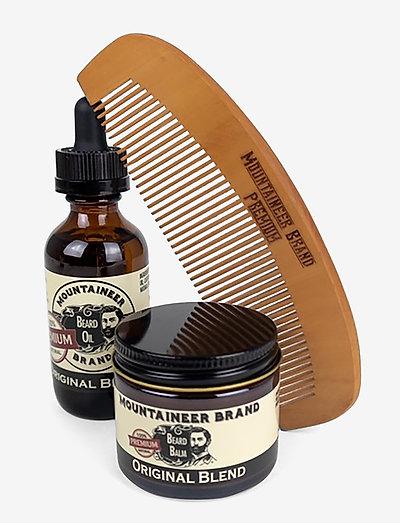 Original Blend Beard Care Duo with Beard Comb - gavesæt - multi-colored