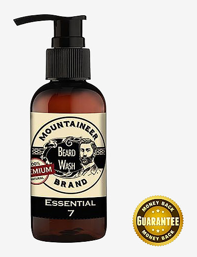 Essential 7 Beard Wash - skägg & mustasch - clear