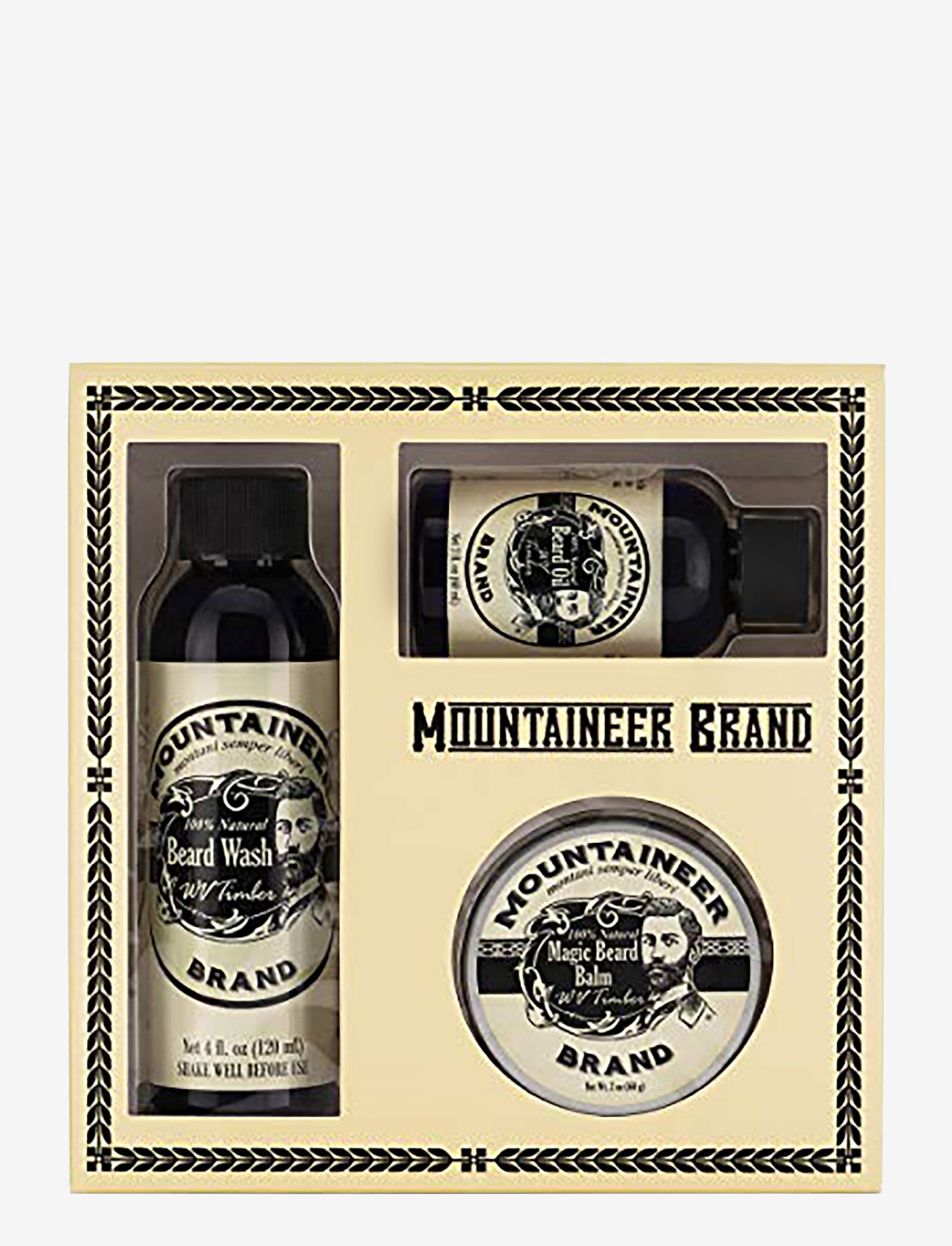 Mountaineer Brand - 3 piece Timber Gift Set in Box - presentaskar - multi-colored - 0