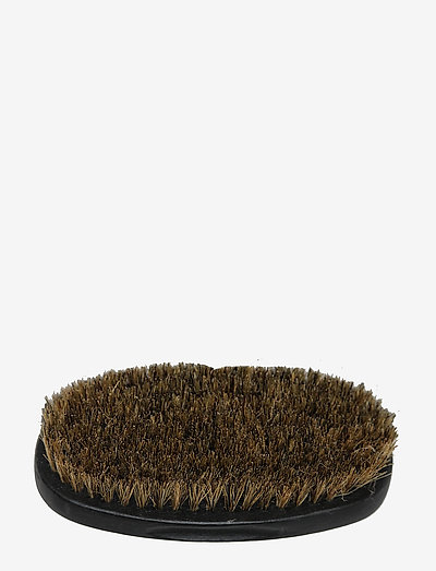 Military Oval Boar Beard Brush - barberkost - brown