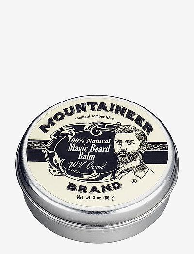 Magic Coal Beard Balm - skæg & overskæg - clear