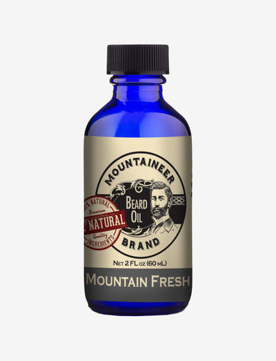 Coal Beard Oil - CLEAR
