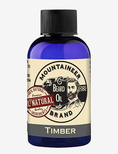 Timber Beard Oil - skægolie - clear