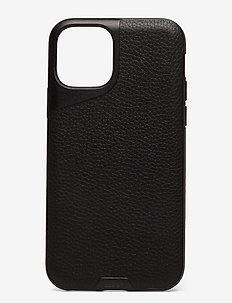 Mous Contour Leather Protective Phone Case - puhelimen kuoret - black