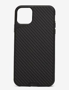 Mous Aramax Carbon Fibre Protective Phone Case - puhelimen kuoret - black
