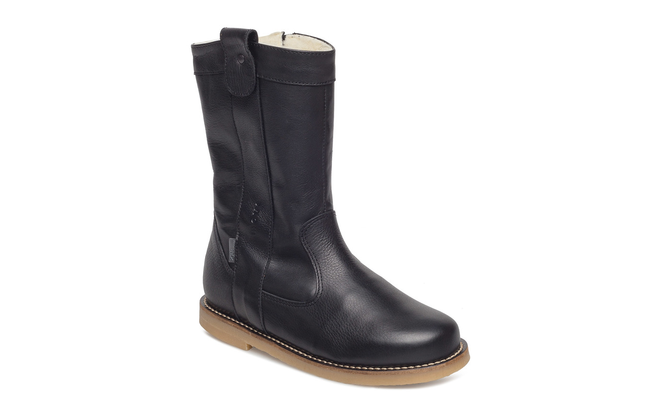 Melton Melton Melton Zipper Girls Move by kr Boot Winter 839 839 839 30 Black PnFxBZSqw