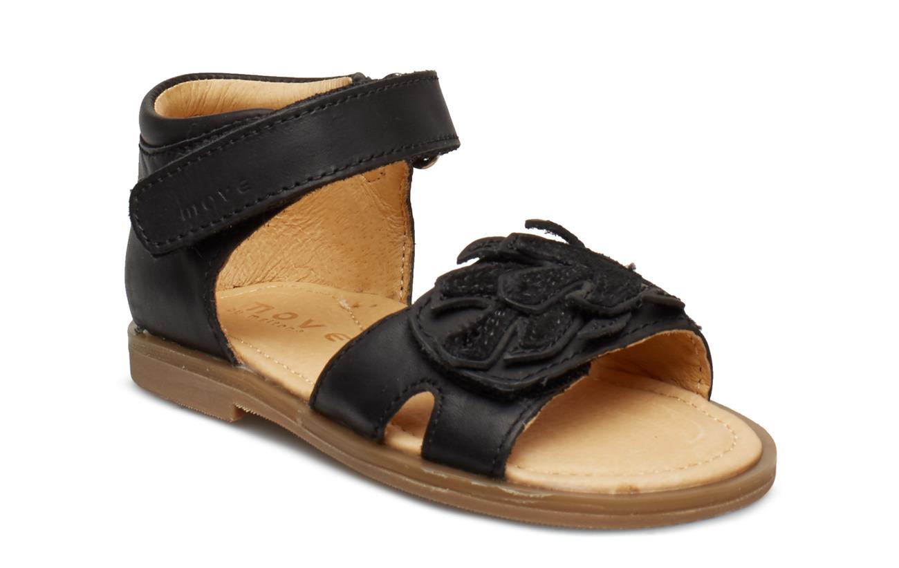 Move by Melton Infant - Girls sandal w/deco - BLACK
