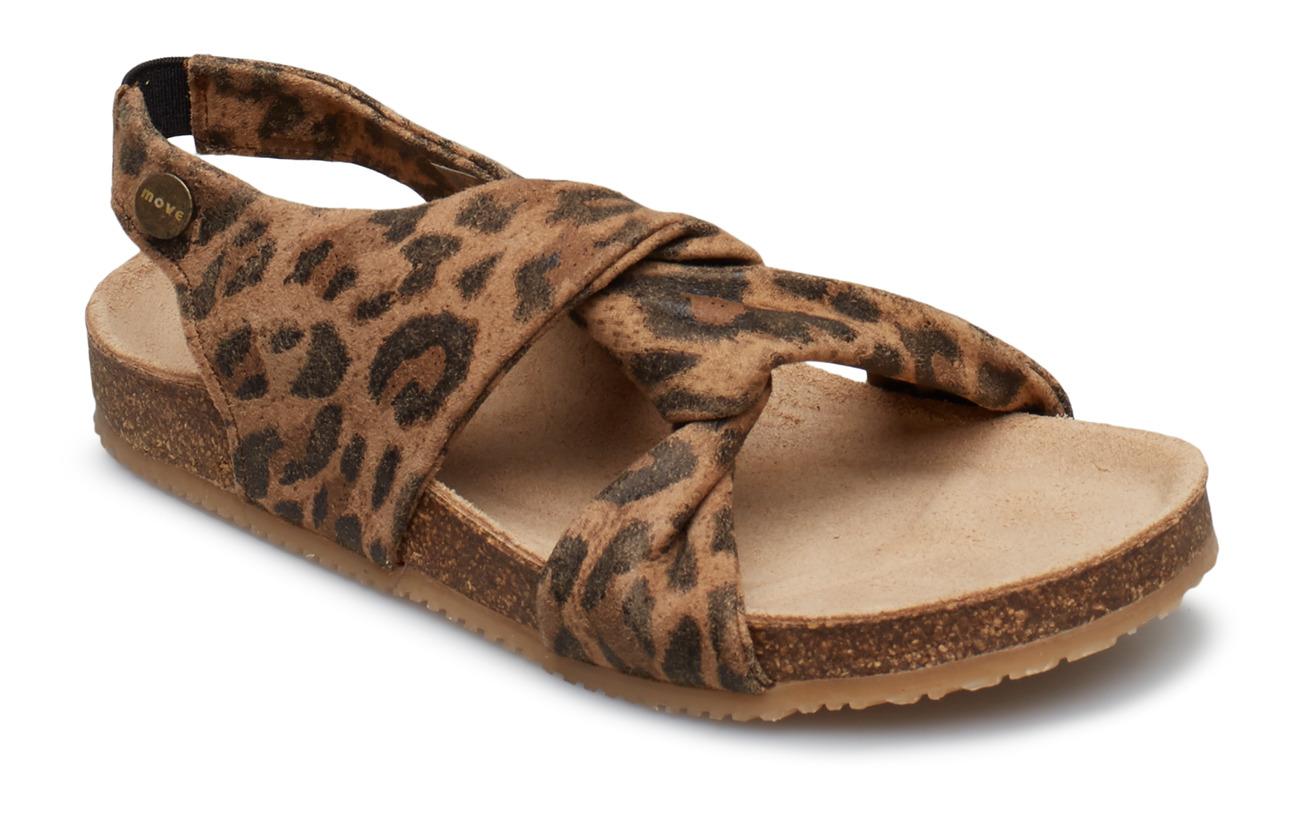 Move by Melton Girls - Cork Sandal - LEOPARD