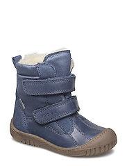 Infant - TEX boot w/velcro - DARK BLUE
