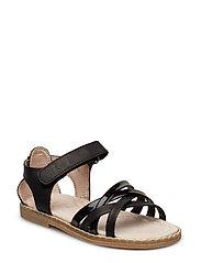 Girls strap sandal - BLACK