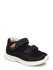 Infant - Unisex sneaker with velcro - BLACK