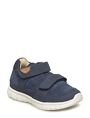 Infant - Unisex sneaker with velcro - BLUE NIGHTS