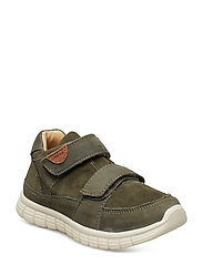 Infant - Unisex sneaker with velcro - DUSTY OLIVE