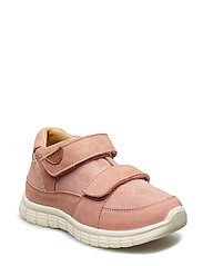 Infant - Unisex sneaker with velcro - DUSTY ROSE