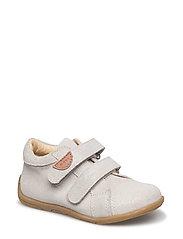 Infant unisex velcro shoe - 902 SILVER GLITTER