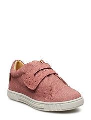 Infant single velcro shoe - DUSTY ROSE