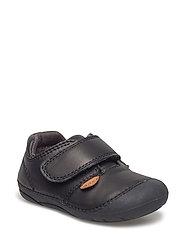 Flex walker - Velcro shoe - BLACK