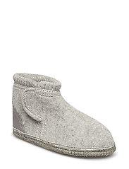 Wool boot - LIGHT GREY MELANGE