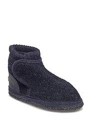 Wool boot - NAVY