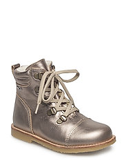 Infant - Winter lace boot - ANTIQUE SILVER