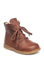 Infant - Winter lace boot - CHESTNUT