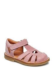 Infant - Girls sandal with heart - 507 ALT ROSA