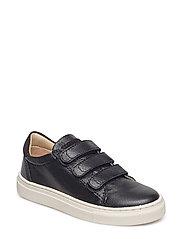 Unisex - Sneaker with 3 velcros - BLACK