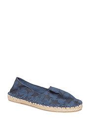 Unisex - Espadrilles with print - 281 NAVY